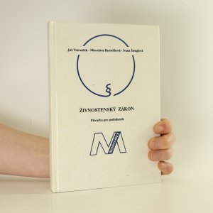 náhled knihy - Živnostenský zákon