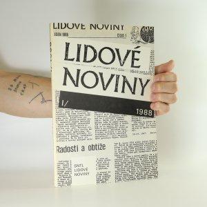náhled knihy - LIDOVÉ NOVINY 1988 (díl 1.)