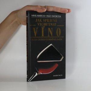 náhled knihy - Jak správně vychutnat víno