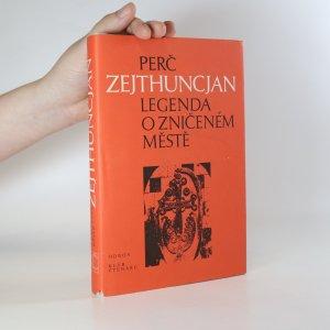 náhled knihy - Legenda o zničeném městě