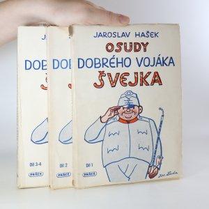 náhled knihy - Osudy dobrého vojáka Švejka za světové války. 1.-4.díl. (3 svazky)
