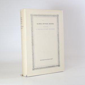 náhled knihy - Básně a dramatické zlomky