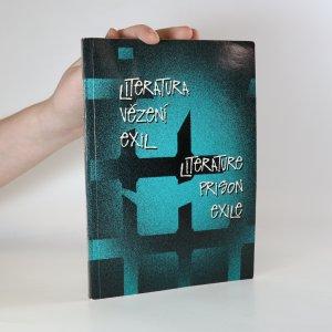 náhled knihy - Literatura, vězení, exil. Literature, prison, exile.