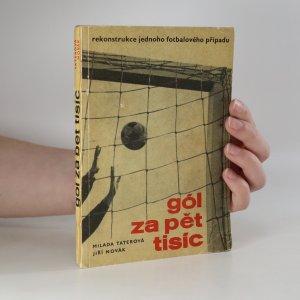 náhled knihy - Gól za pět tisíc