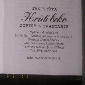 antikvární kniha Krůtí brko. Dopisy z Tramtárie, 2016