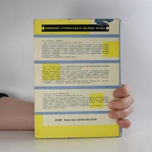 antikvární kniha Izolace proti vodě , 1960