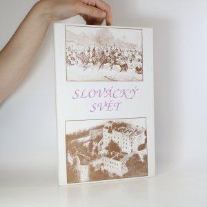 náhled knihy - Slovácký svět