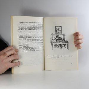 antikvární kniha K historii průmyslové oděvní výroby , 1986