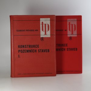 náhled knihy - Konstrukce pozemních staveb (2 díly ve dvou svazcích)