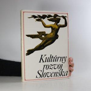 náhled knihy - Kultúrny rozvoj Slovenska