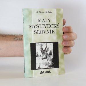 náhled knihy - Malý myslivecký slovník