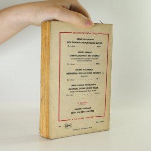 antikvární kniha Sept Visages de L'Amour, 1946