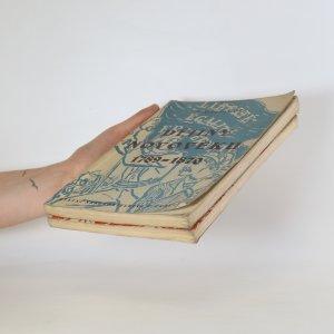 antikvární kniha Dějiny novověku 1789-1870 a 1870 - 1918 (2 svazky), 1950