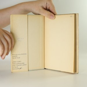 antikvární kniha Zpěv jihu, 1946