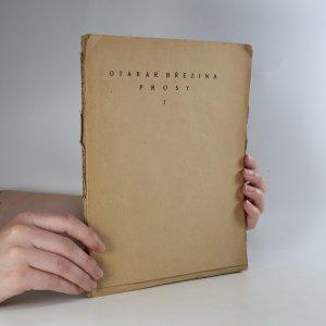 náhled knihy - Hudba pramenů. Prosy I
