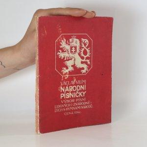 náhled knihy - Národní písničky