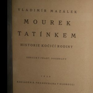 antikvární kniha Mourek tatínkem, 1930