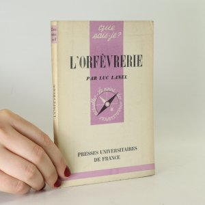 náhled knihy - L'orfévrerie