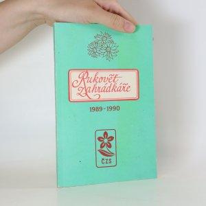 náhled knihy - Rukovēt Zahrádkáře 1988-1989