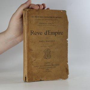 náhled knihy - Rêve d'Empire