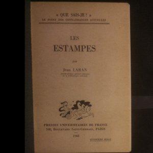 antikvární kniha Les Estampes, 1948
