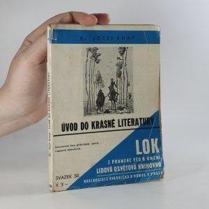 náhled knihy - Úvod do krásné literatury