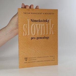 náhled knihy - Německo-český slovník pro genealogy