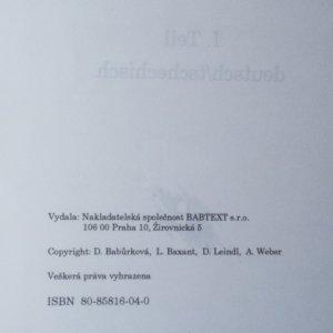 antikvární kniha Odborný slovník. Právo a obchod. Česko/německý - německo/český , neuveden