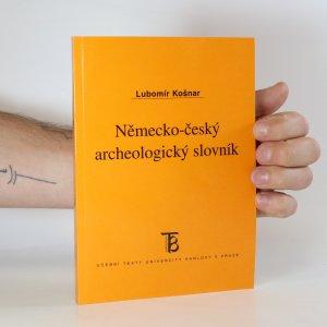 náhled knihy - Německo-český archeologický slovník