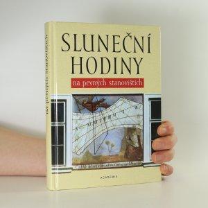 náhled knihy - Sluneční hodiny na pevných stanovištích