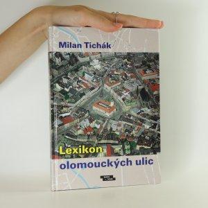 náhled knihy - Lexikon olomouckých ulic