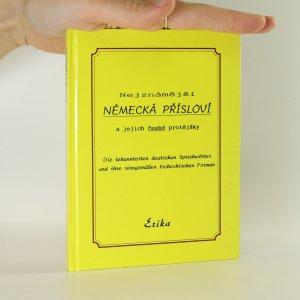 náhled knihy - Nejznámější německá přísloví a jejich české protějšky