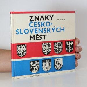 náhled knihy - Znaky česko-slovenských měst