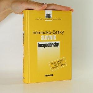 náhled knihy - Německo-český hospodářský slovník. Wirtschaftswörterbuch Deutsch-Tschechisch.