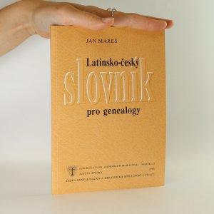 náhled knihy - Latinsko-český slovník genealogický