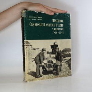 náhled knihy - Historie československého filmu v obrazech 1930-1945