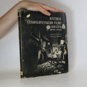 náhled knihy - Historie Československého filmu v obrazech 1898-1930 - Brož J., Frída M.