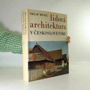 náhled knihy - Lidová architektura v Československu