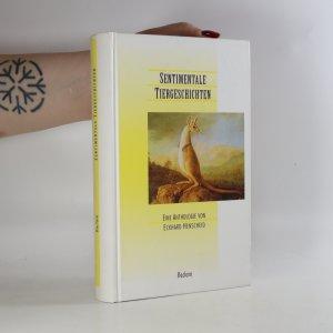 náhled knihy - Sentimentale Tiergeschichten. Eine Anthologie