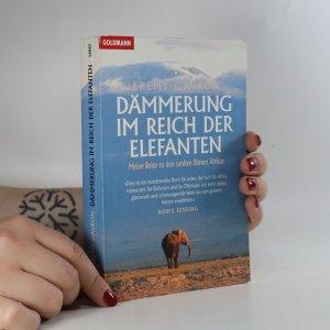 náhled knihy - Dämmerung im Reich der Elefanten