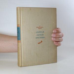 náhled knihy - ...ein Blick zurück und dann...