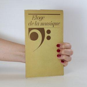 náhled knihy - Eloge de la musique