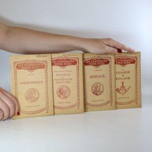 náhled knihy - Les classiques pour tous 4x (viz foto)