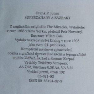 antikvární kniha Největší záhady světa. Superzáhady a zázraky, 1993