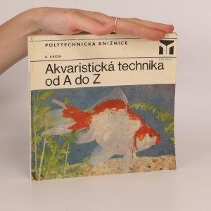 náhled knihy - Akvaristická technika od A do Z