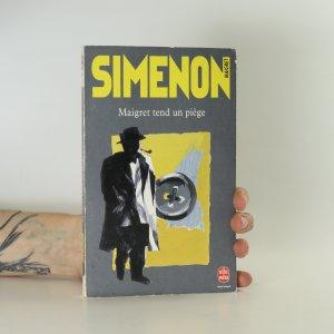 náhled knihy - Maigret tend un piège