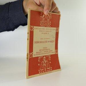 náhled knihy - Demokracie a volby