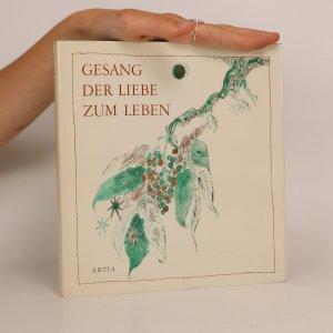 náhled knihy - Gesang der Liebe zum Leben