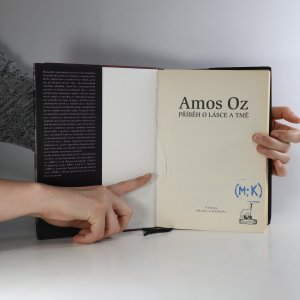antikvární kniha Příběh o lásce a tmě, 2009