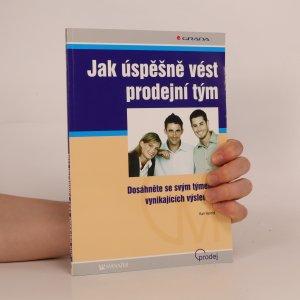 náhled knihy - Jak úspěšně vést prodejní tým
